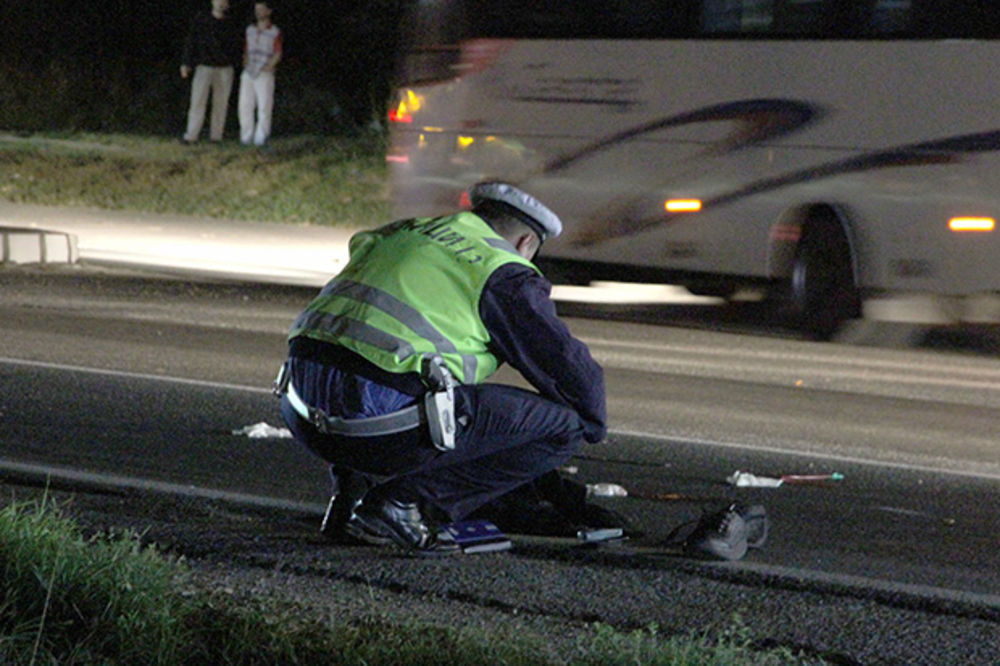saobraćajna nesreća, uviđaj, Ilustracija, Foto Dragan Kadić