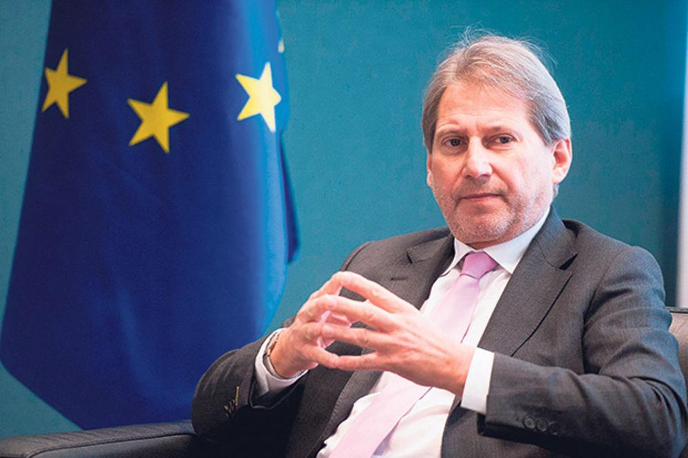 JOHANES HAN: Srbija 2016. otvara prva poglavlja u pregovorima sa EU