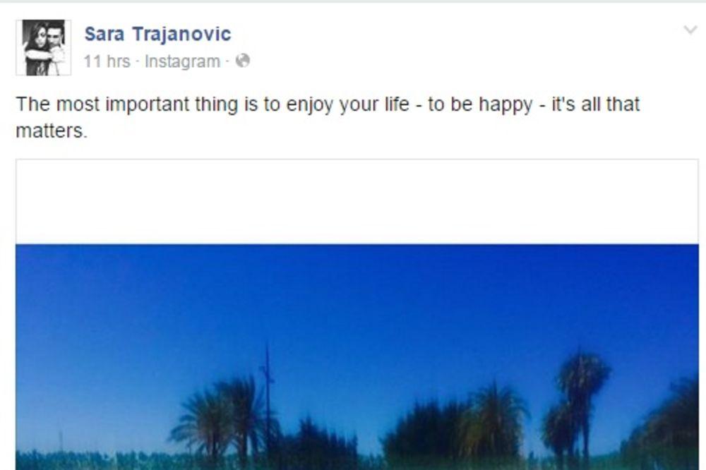 (FOTO) Ovako Sara Trajanović uživa na Ibici!