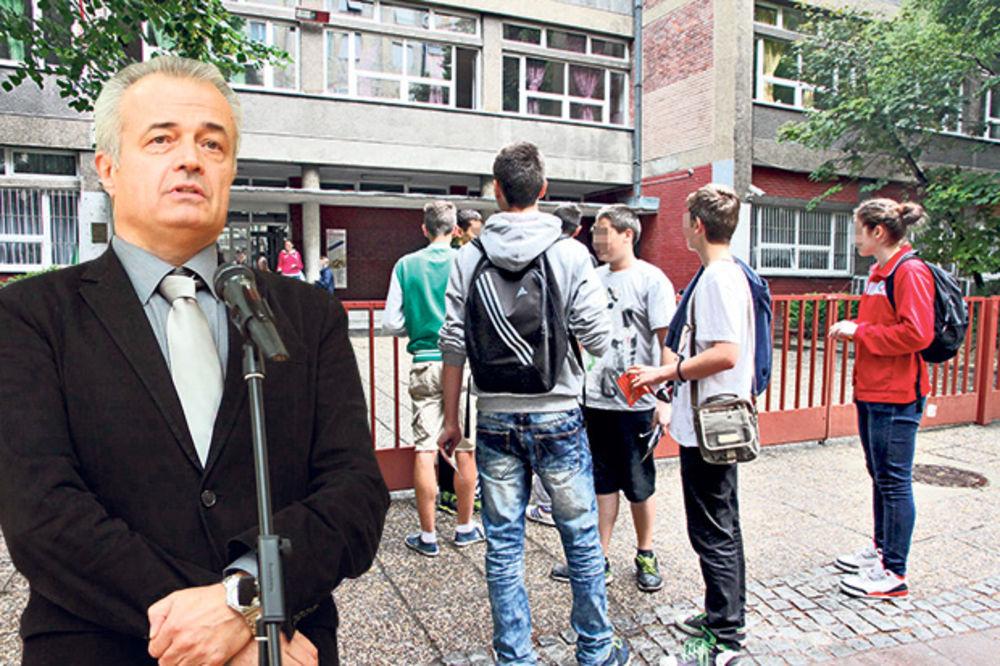 Direktor Matematičke gimnazije: Malom maturom su maltretirali učenike