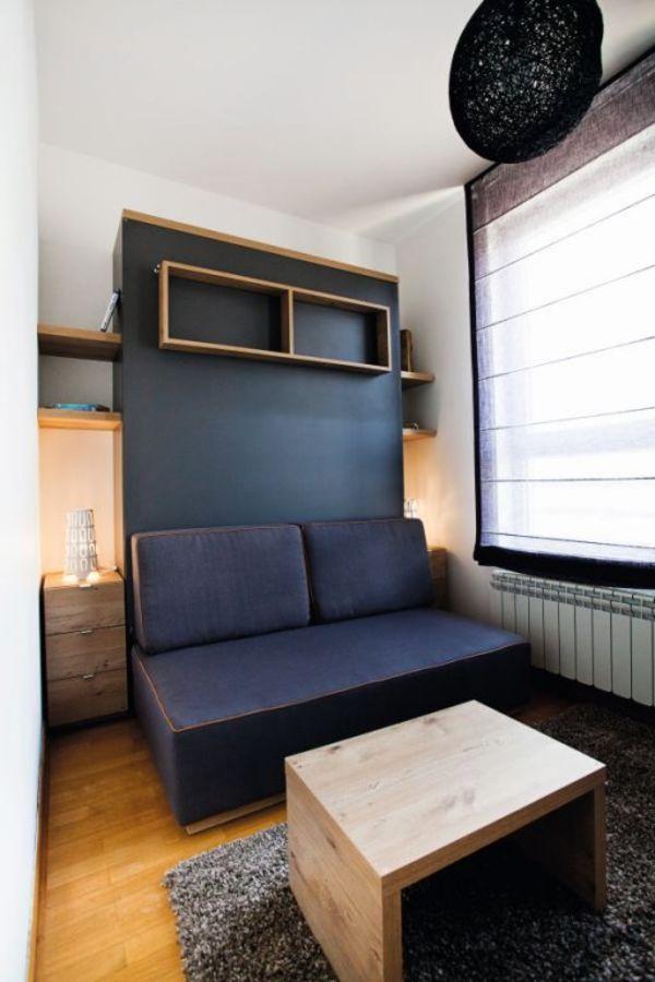 FUNKCIONALNA ADAPTACIJA: Kako u jednosobnom stanu od 38 kvadrata namestiti dv...