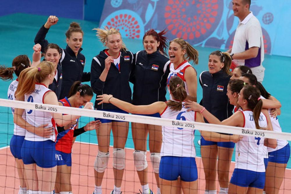 NOVI TRIJUMF ODBOJKAŠICA: Srbija ubedljiva protiv Južne Koreje!
