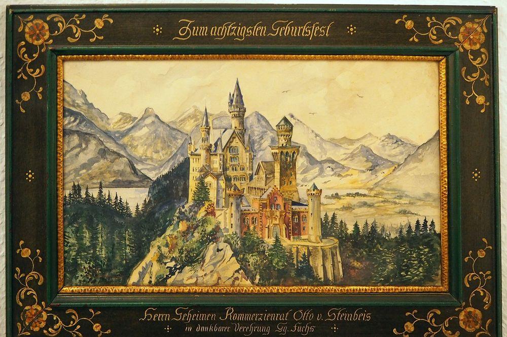 TREBALO JE DA BUDE SLIKAR: Akvareli i crteži Adolfa Hitlera prodati za 400 000 evra