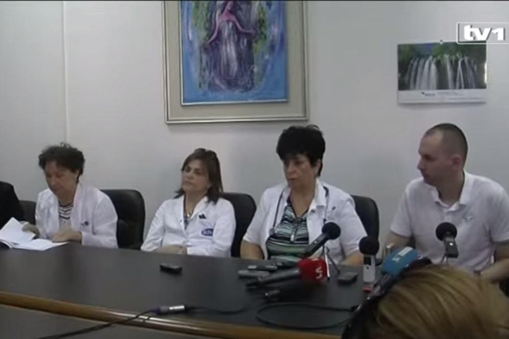 Lekari mostarske bolnice kažu da je procenat smrtnosti novorođenčadi kod njih na evropskom nivou (Foto: Printscreen YouTube)