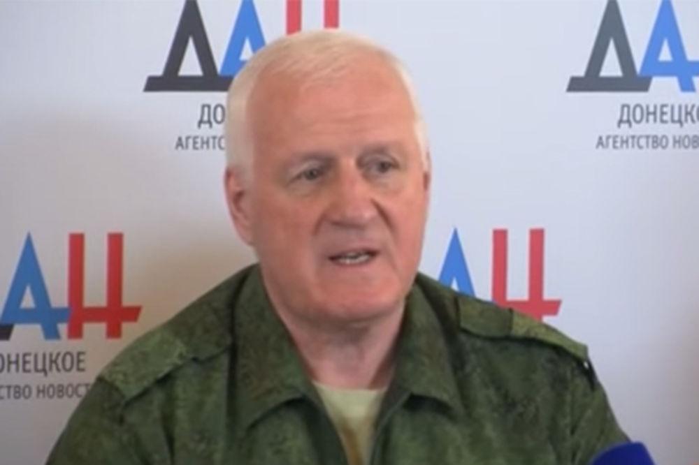 (VIDEO) KIJEV U ŠOKU: Visoki ukrajinski general prešao na stranu Donjecke Republike!