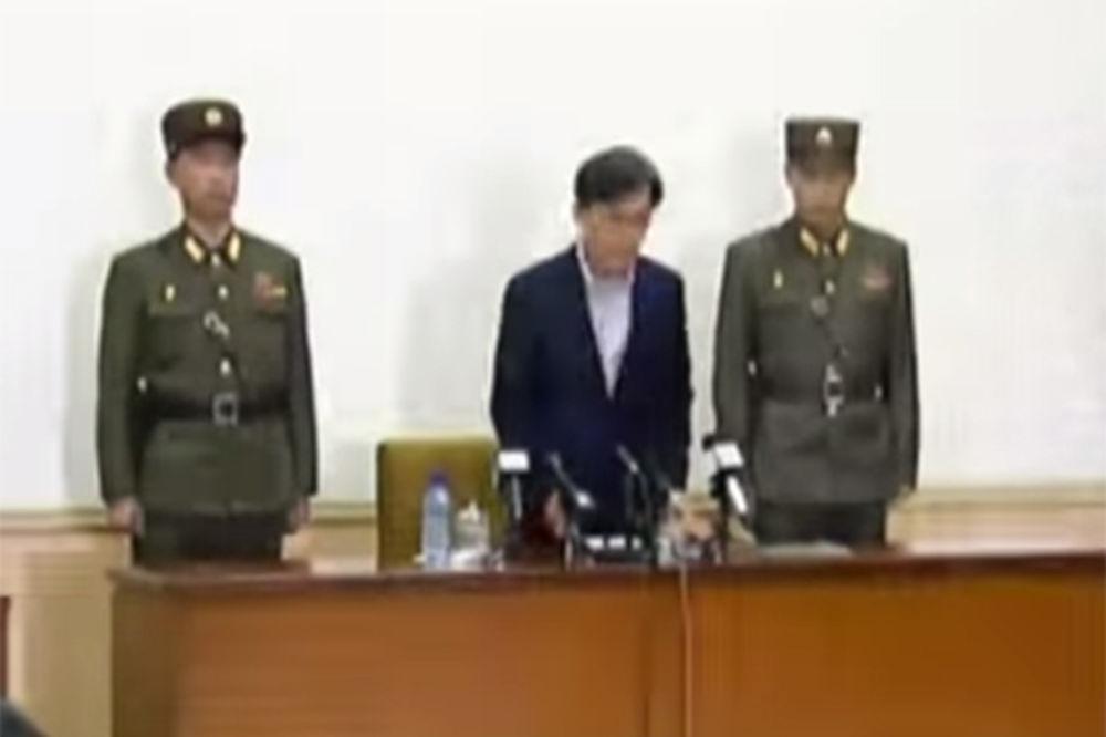 (VIDEO) SEVERNA KOREJA: Doživotna robija za dvojicu južnokorejskih špijuna