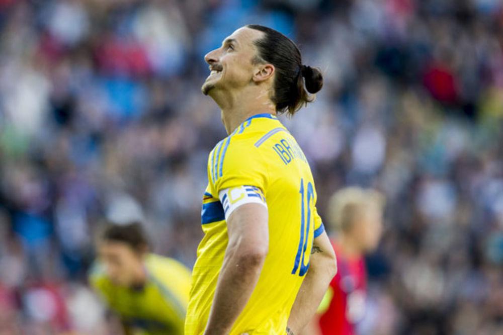 ZLATAN NA OI: Ibrahimović želi sa Švedskom u Rio