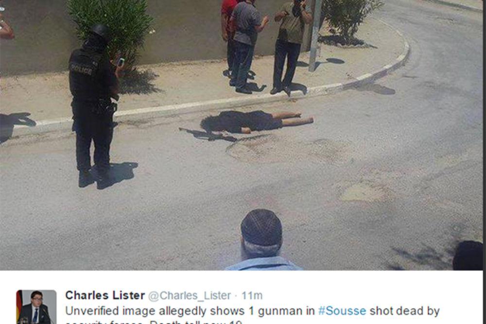 Tunis ubijen napadač na hotel Imperijal Merhaba