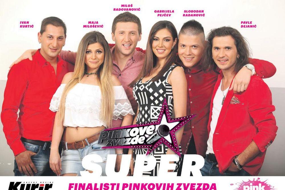 DANAS UZ KURIR POKLON POSTER: Još šest superfinalista Pinkovih zvezda