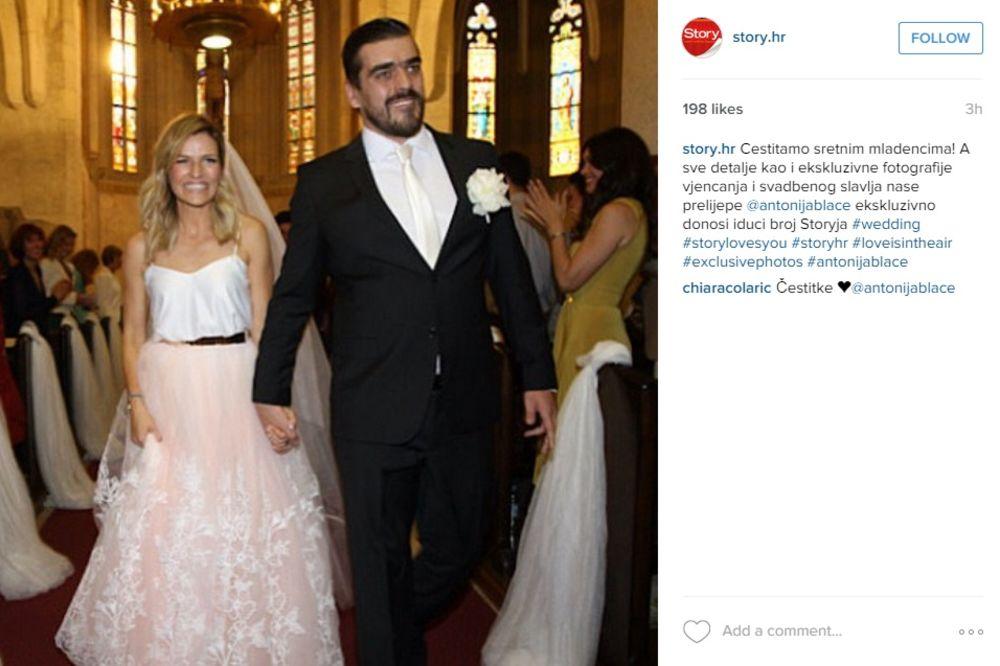 (FOTO) POSLE 6 GODINA VEZE: Udala se Antonija Blaće!