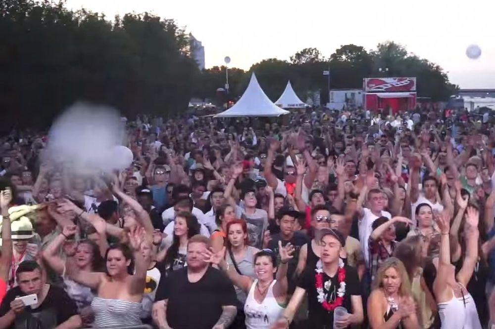 LUDILO U BEČU: 1,1 milion posetilaca prve večeri festivala na Dunavskom ostrvu!