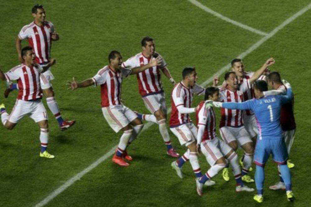 (VIDEO) BRAZIL NE MOŽE BEZ NEJMARA: Paragvaj u polufinalu posle penala!