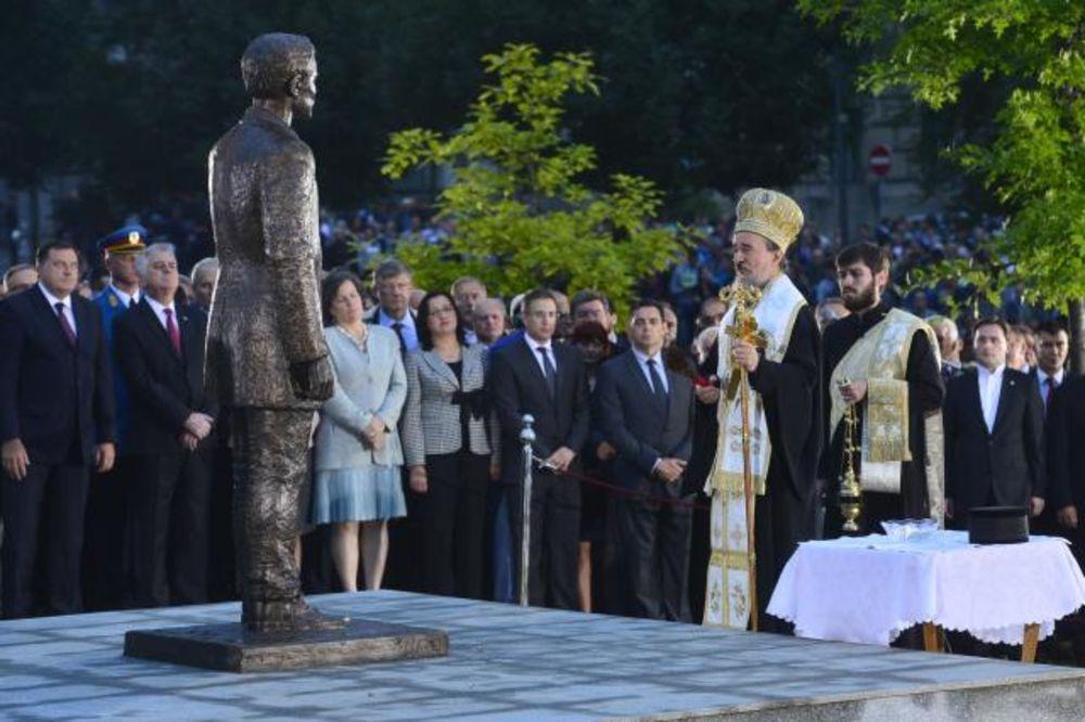 OTKRIVEN SPOMENIK U BEOGRADU: Gavrilo Princip je bio simbol oslobodilačkih ideja