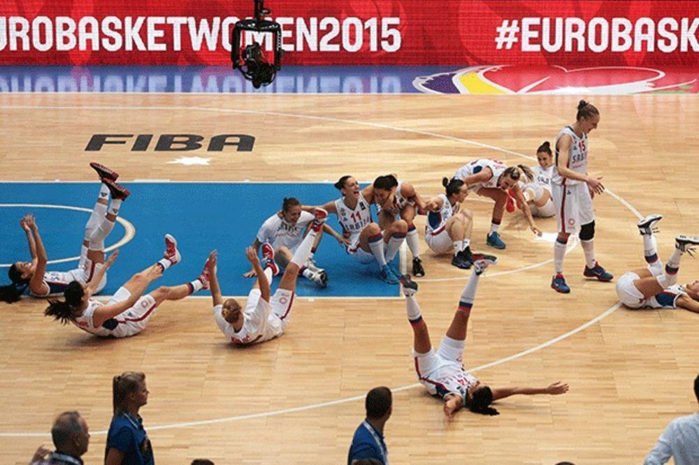 (VIDEO) TRESE SE EVROPA: Pogledajte ludi šampionski ples zlatnih Srpkinja