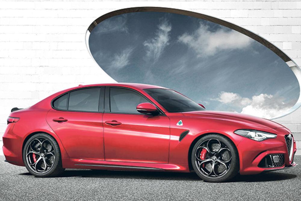 ĐULIJA JE STIGLA: Alfa predstavila naslednika modela 159!