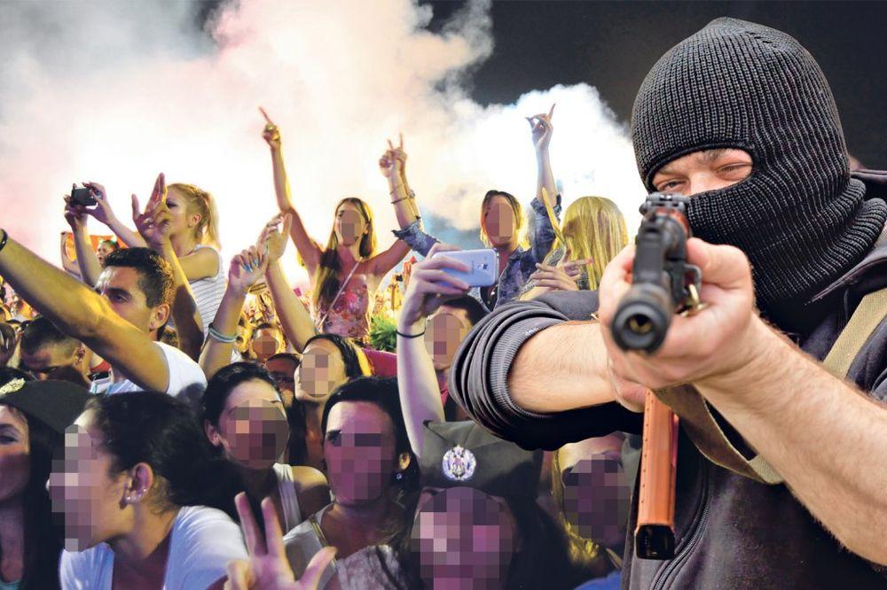 TERORISTI NAPADAJU GUČU I EGZIT: Obaveštajci otkrili krvavi plan!
