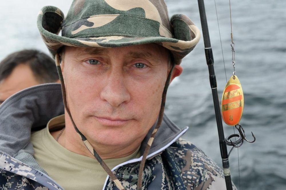 UŽIVA U ČISTOM VAZDUHU: Vladimir Putin odmara u Sibiru