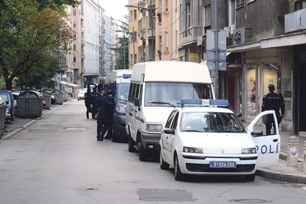 U Beogradu podignut  stepen bezbednosti  Kosovska ulica 17.45