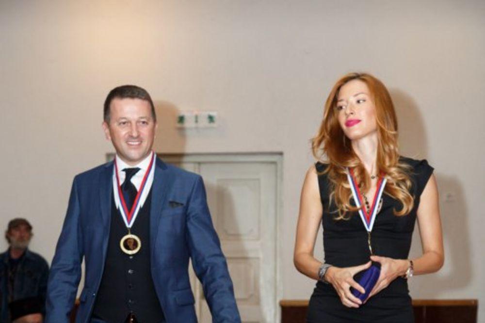 VELIKO PRIZNANJE: Jovani i Srđanu orden za viteštvo Mihajlo Pupin!