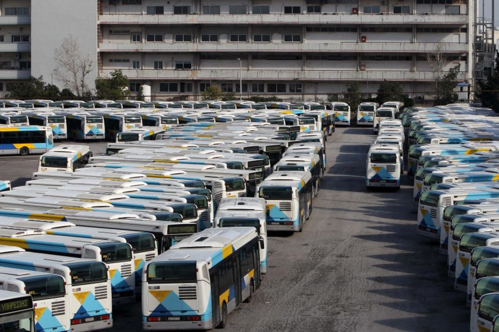 SUTRA HAOS U ATINI: Najavljen štrajk javnog prevoza, prestonica Grčke bez metroa, vozova i tramvaja
