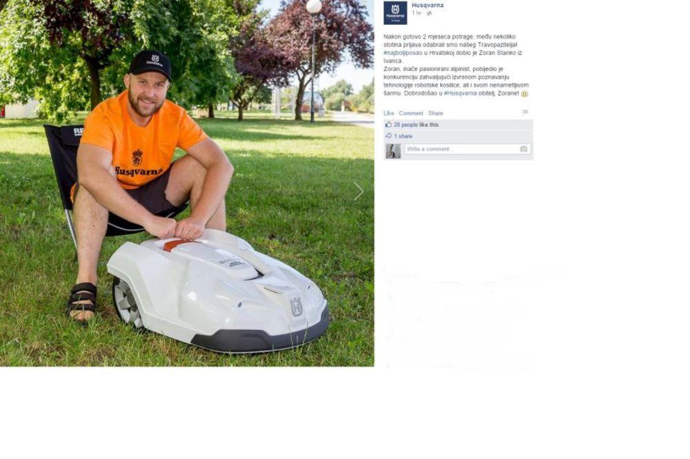 BLAGO NJEMU: Hrvat dobio najbolji posao na svetu, plaćen da gleda u travu!