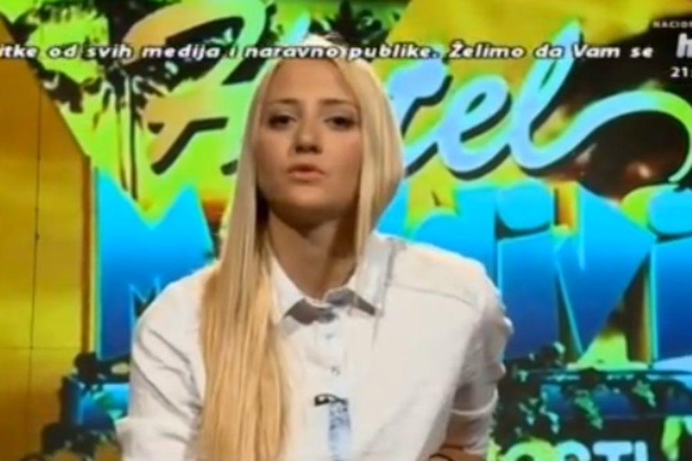 GLASAČI NISU POSLUŠALI GASTOZA: Iz rijalitija izbačena Nađa Nikolić!