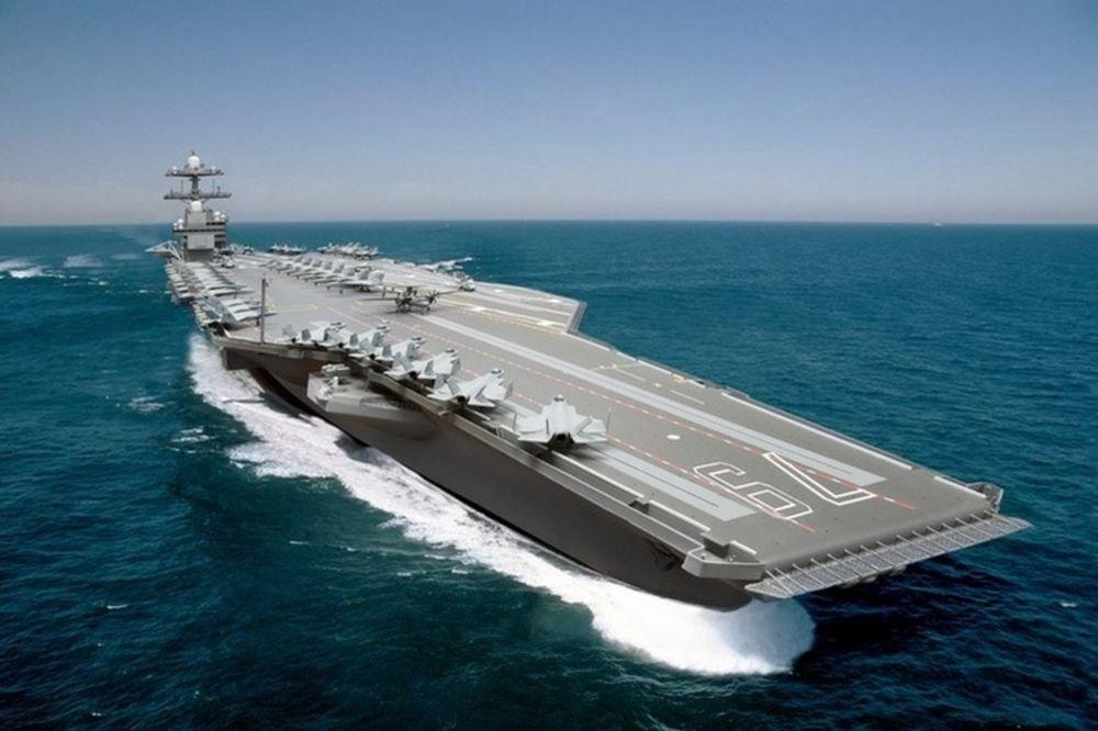 MORSKO ČUDOVIŠTE: Amerika gradi najskuplji ratni brod u istoriji od 13 milijardi dolara