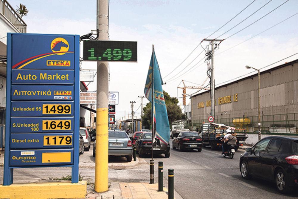 Na Halkidikiju zatvorene sve benzinske pumpe!