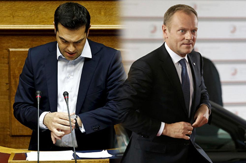 CIPRAS: Grčka nema para da otplati dug TUSK: EU neće produžiti pomoć
