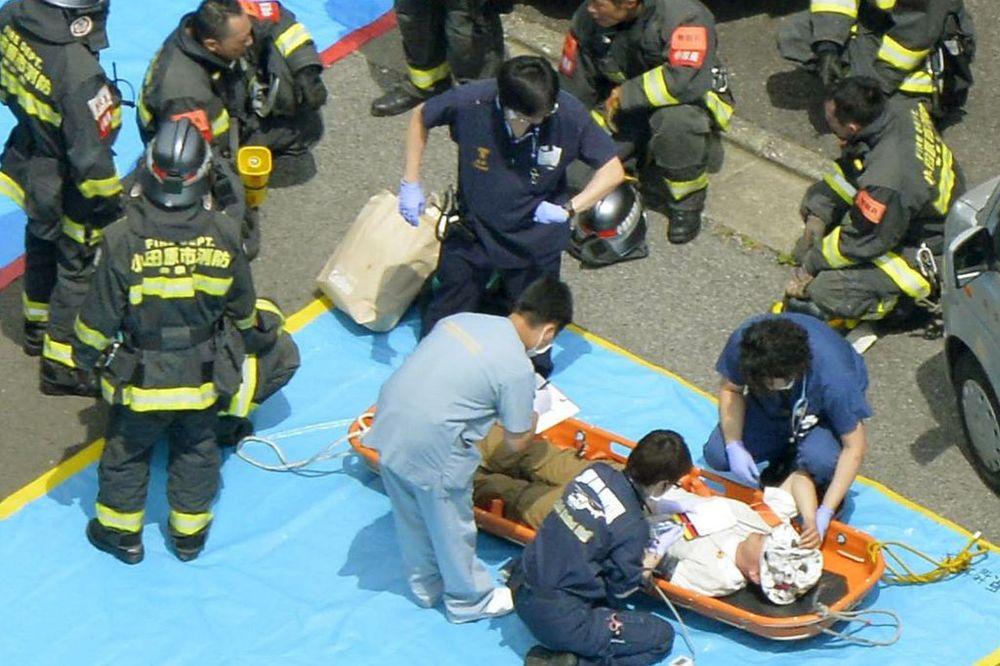 (VIDEO) STRAVA U VOZU TOKIO-OSAKA: Kamikaza se zapalio i ubio još jednu ženu!