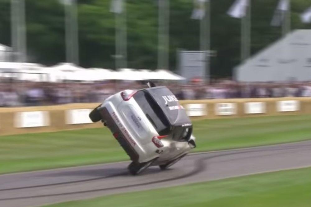 (VIDEO) POSTAVIO SVETSKI REKORD: Vozio na dva točka, ali automobilom