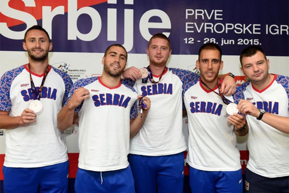 STIGLA MEDALJA: Basketaši doneli u Beograd bronzu sa Evropskih igara