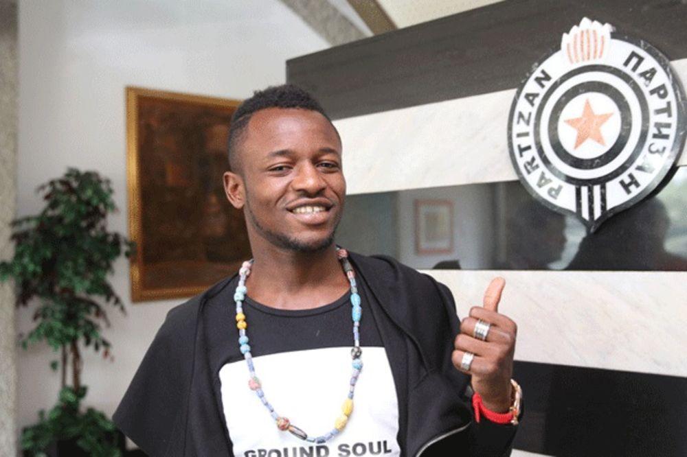Umaru Abubakar: Partizanov dres draži od Zvezdinog