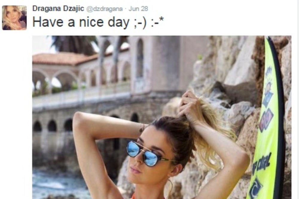 POSTAJE VRUĆE: Dragana Džajić kao seksi surferka!