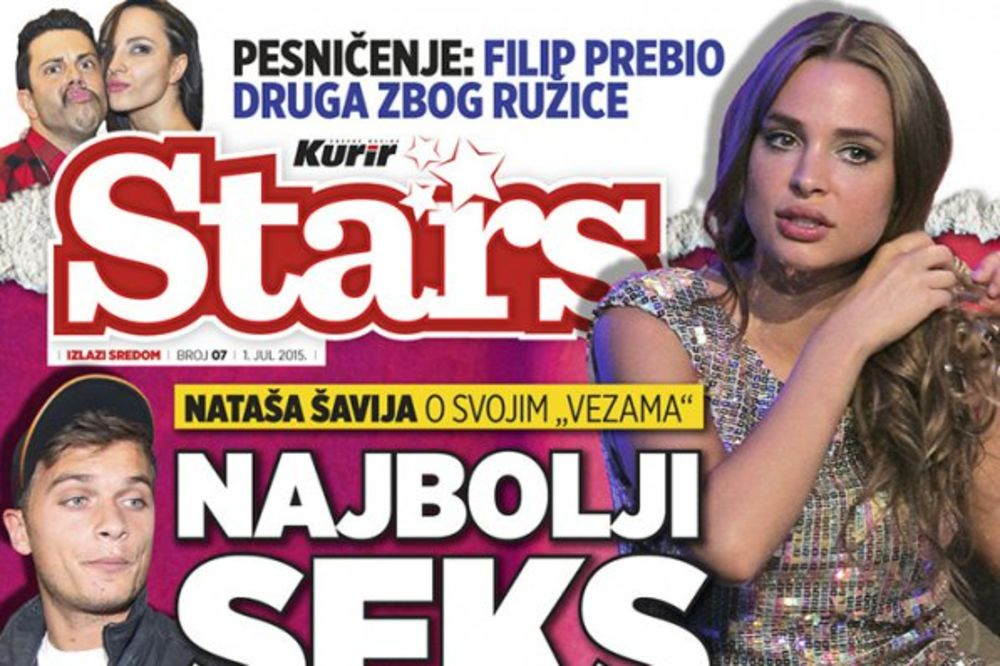 NATAŠA ŠAVIJA ZA NOVI STARS: Najbolji seks imala sam s Ljajićem!