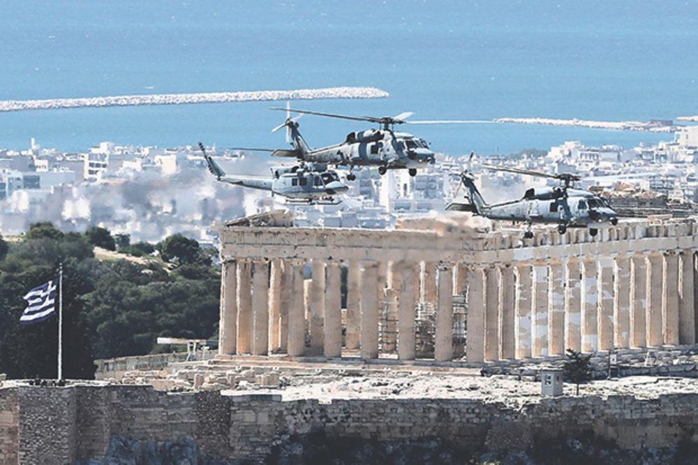 Grčka strepi od džihadista, avioni nadleću gradove