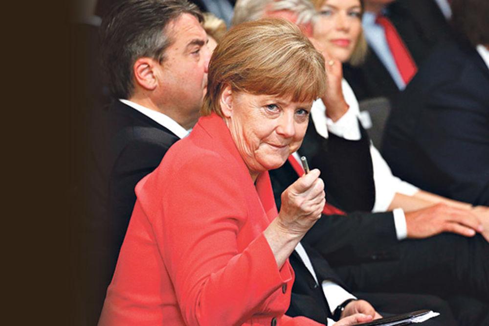 Angela Merkel naredila Mustafi da se dogovori s Vučićem