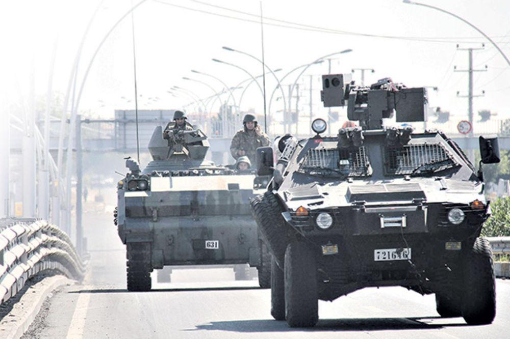 DRAMA: Turska ulazi u rat u Siriji, zaustavlja Kurde u borbi protiv IS