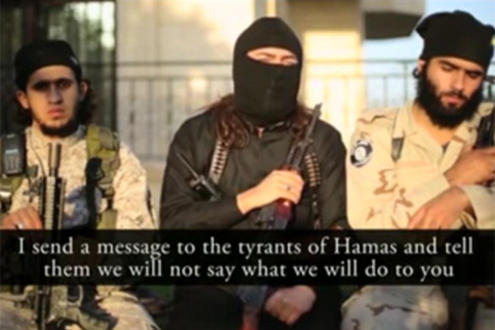 (VIDEO) ISIL PRETI HAMASU: 8 godina vladate Pojasom Gaze i niste nametnuli šariju? Zgazićemo vas!