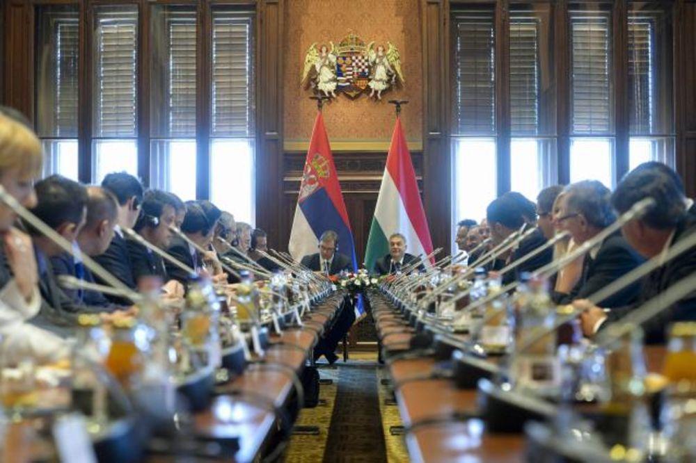 ZAVRŠENA ZAJEDNIČKA SEDNICA: Potpisana 4 sporazuma Mađarske i Srbije