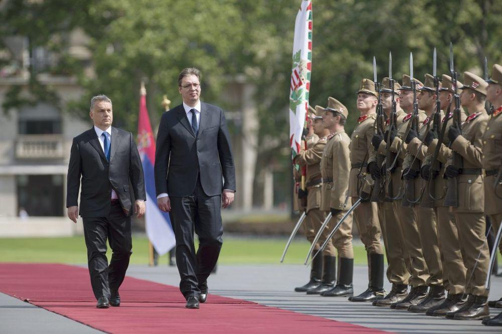Orban: Uveravao sam Vučića da moramo da podignemo zid
