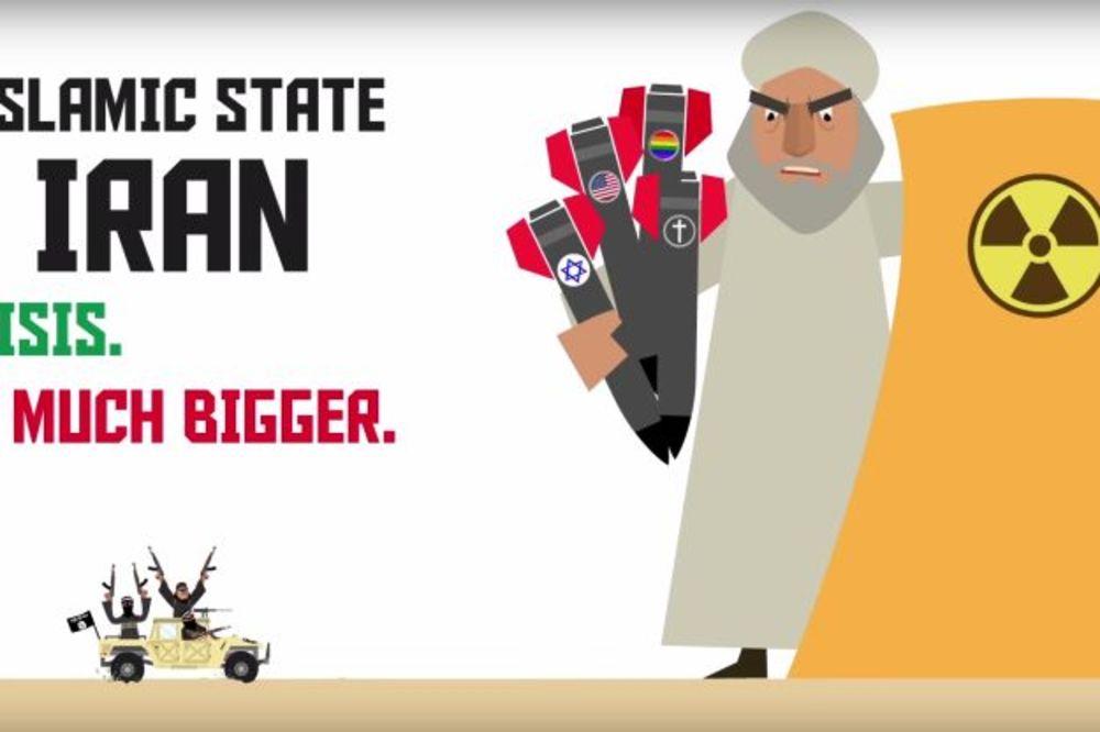 (VIDEO) NOVA PROVOKACIJA IZRAELA: Iran je kao Islamska Država, samo veći