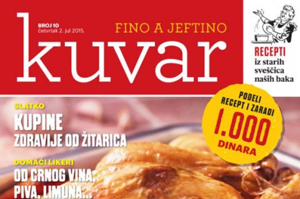 KURIR KUVAR: Piletina koja se lepi za prste
