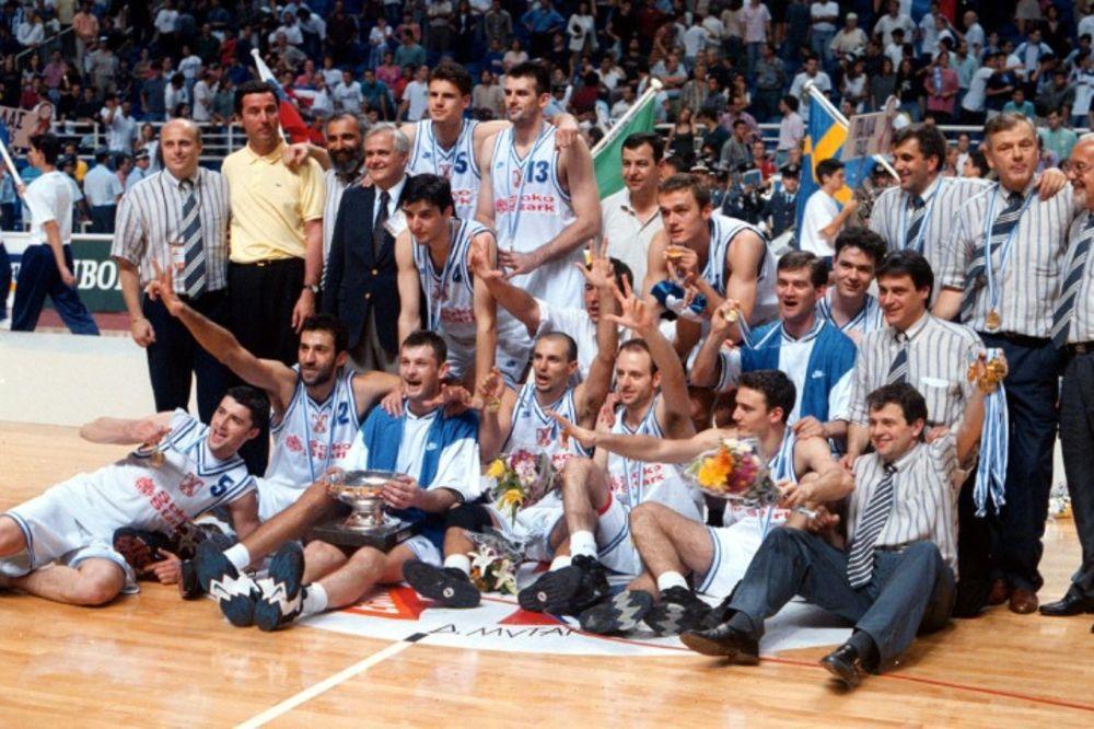 (VIDEO) SEĆATE LI SE KAKO JE SVE POČELO: Ovako smo sa košarkašima slavili zlato iz Atine 1995.