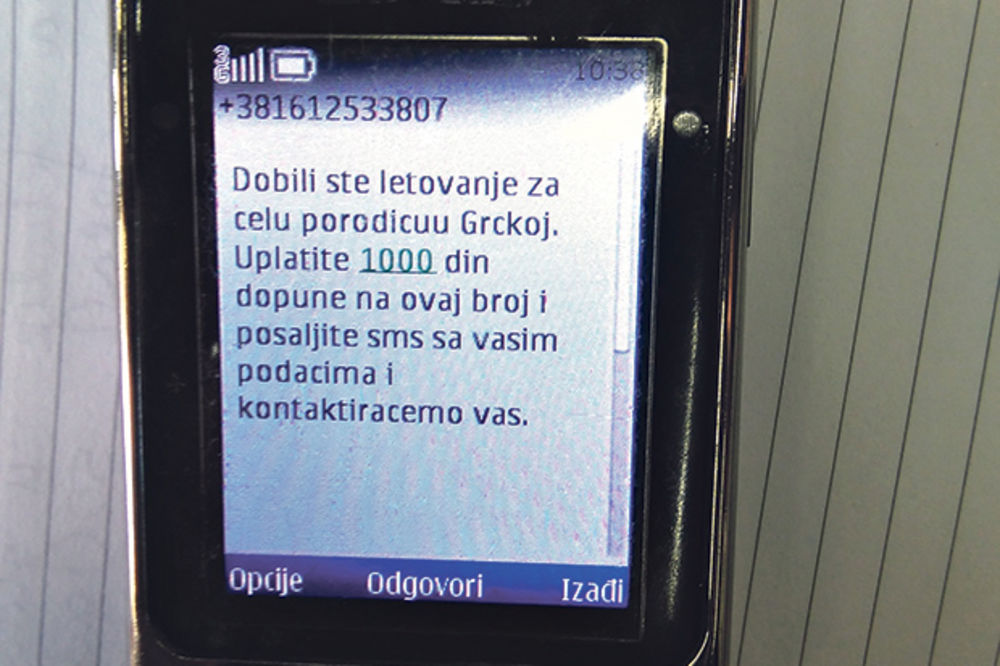 OPREZ: Ne nasedajte na novu SMS prevaru