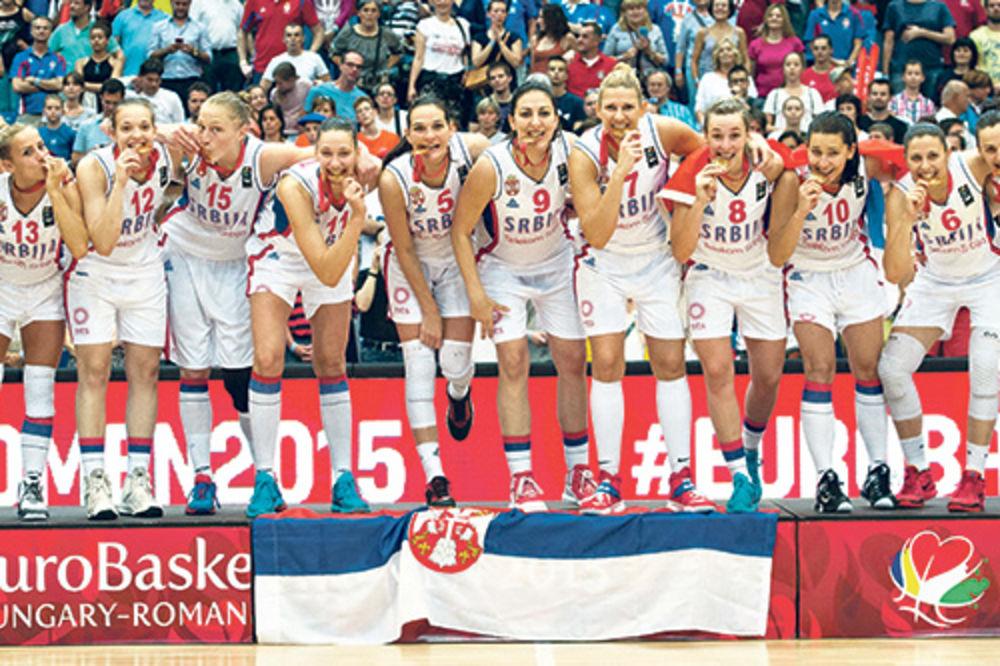 Nosiće medalje na procenu... Srpske košarkašice