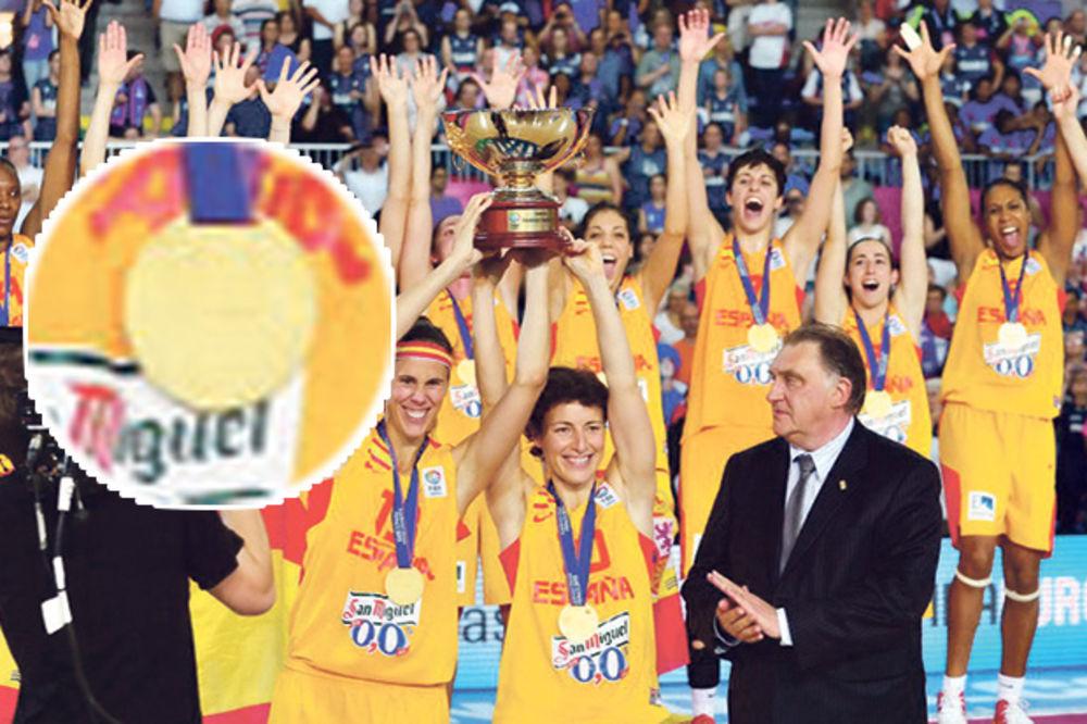 E ovo je zlato... Špankinje, prethodne šampionke Evrope. Foto: FIBA