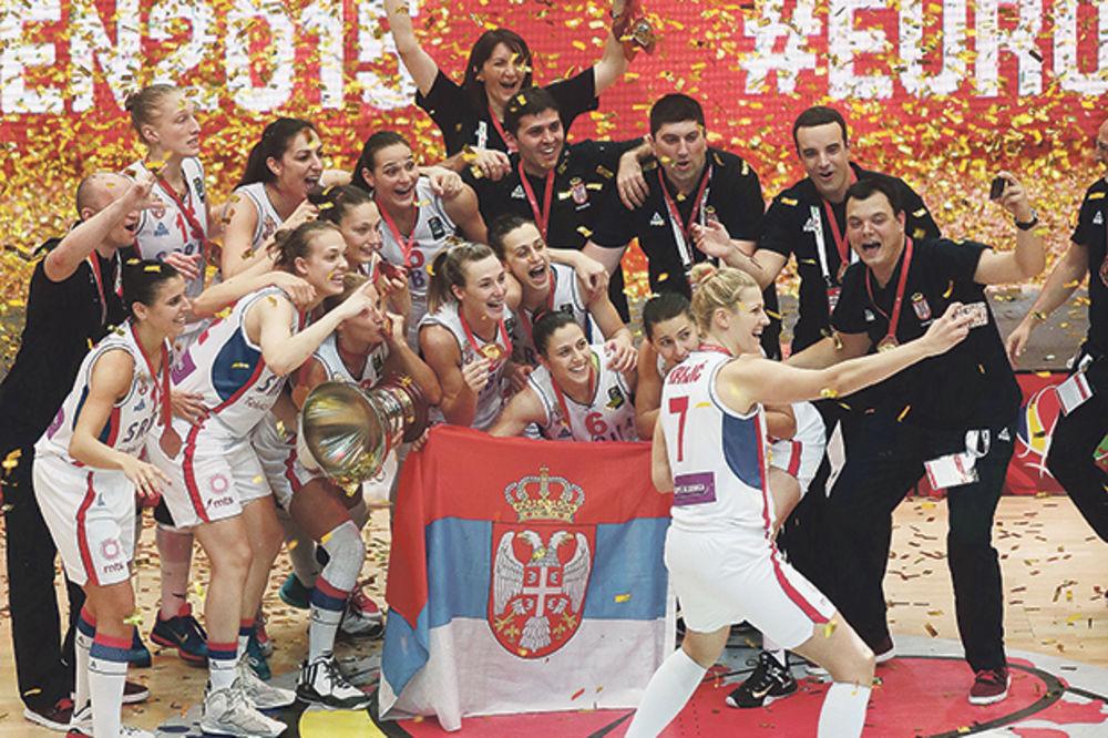(VIDEO) TRESLA SE EVROPA: Prošlog Vidovdana košarkašice Srbije su ostvarile istorijski uspeh