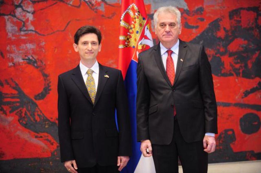 PREDAO AKREDITIVE: Novi ambasador Ukrajine kod Nikolića