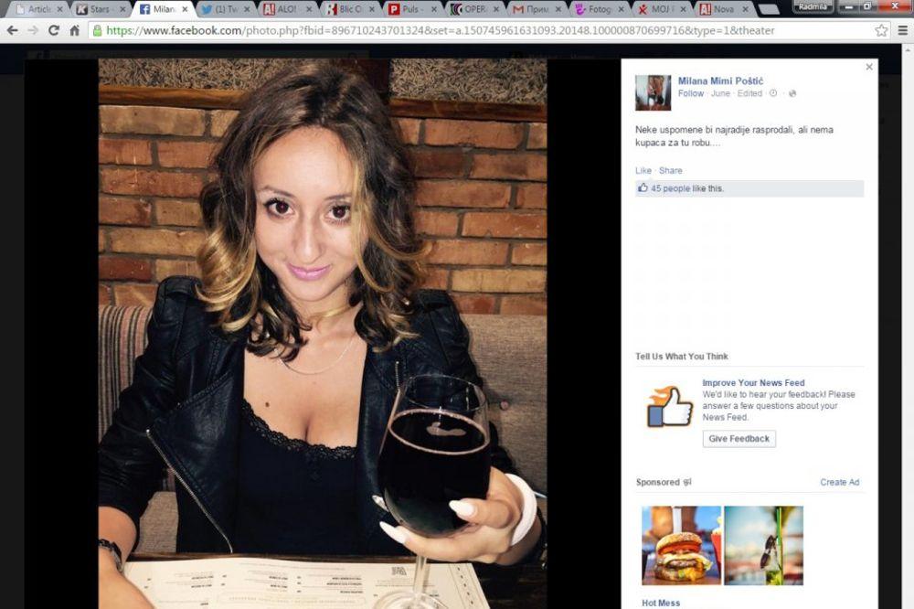 ŽELELA DA OSTANE TAJNOVITA PA SE ISPALILA: Nova ukućanka otkrila sa kojim pevačem je bila!